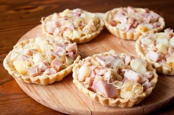 Рецепт начинки с курицей для тарталеток