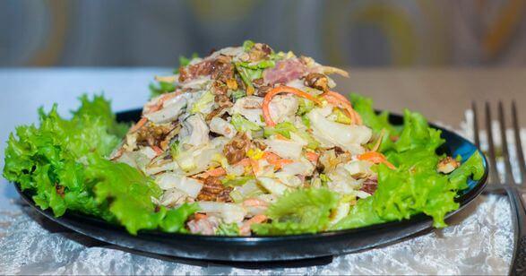 Смотреть корейские салаты