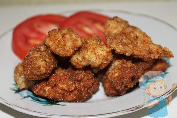 Наггетсы куриные в домашних условиях в духовке