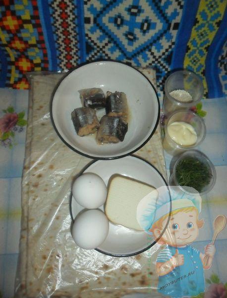 Рецептура лаваша с яйцом и сыром