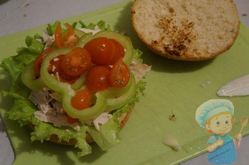 Слой - помидорки