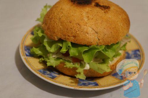 Божественный гамбургер