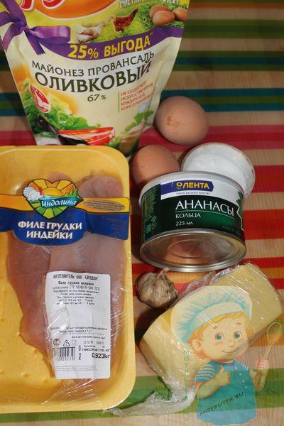 Рецептура начинки для тарталеток с ананасом