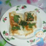 Как приготовить жаренный лаваш с начинкой на сковороде