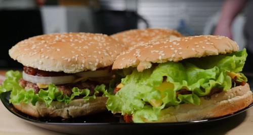 Божественный гамбургер: рецепт
