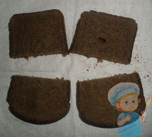 Поджариваем хлеб