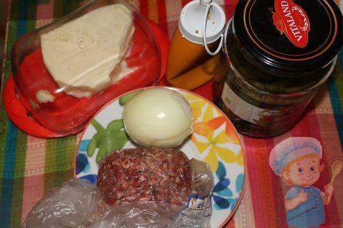 Продукты для начинки из паштета