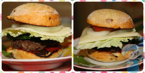 Американский гамбургер