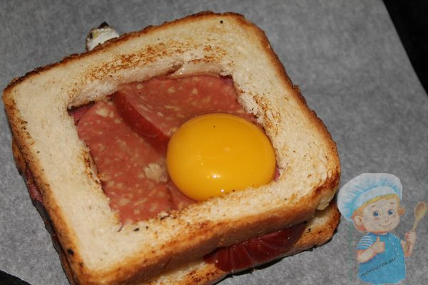 Заготовка бутерброда