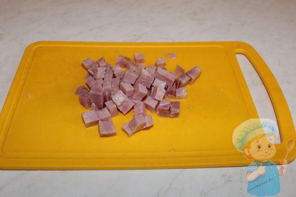 Ветчина кубиками