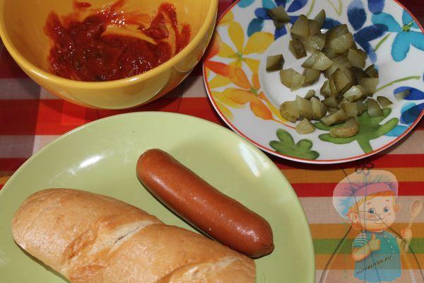 Как приготовить французский хот-дог