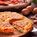 Тортилья с ветчиной и сыром