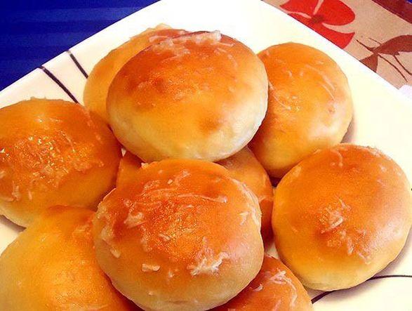 Чесночные булочки со сметаной