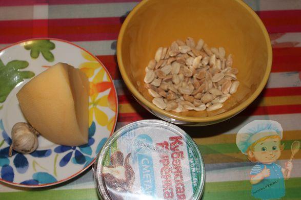 ингредиенты для пасты
