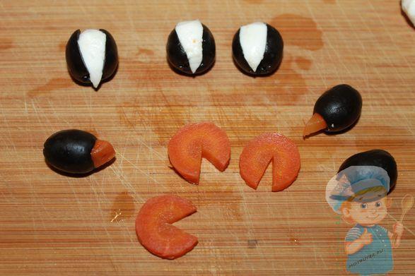 Формируем тело пингвина