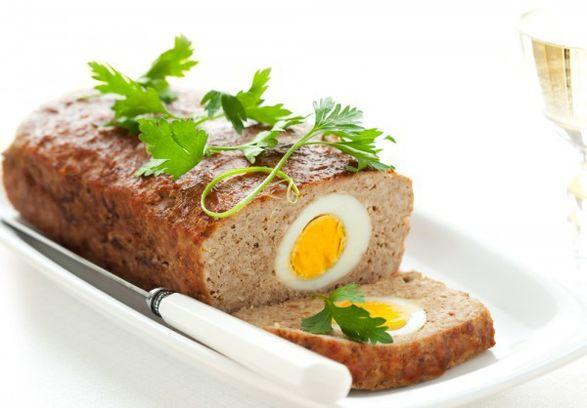 Рецепт хлебца с яйцом
