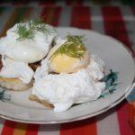 Яйца пашот (бенедикт)