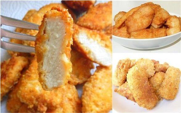 Сырные куриные палочки