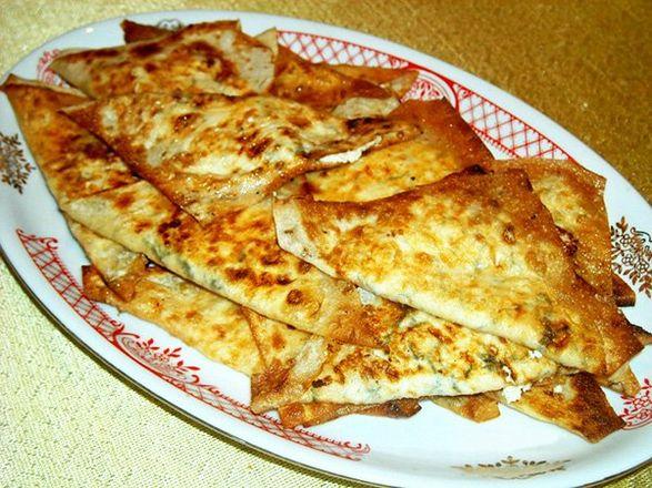 Картофельные пирожки на лаваше