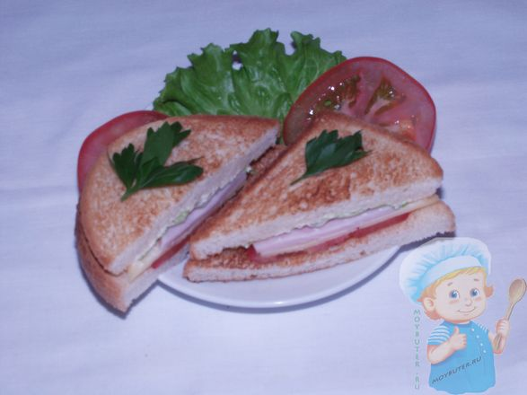 Треугольный бутерброд