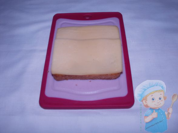 Следующий слой - сыр