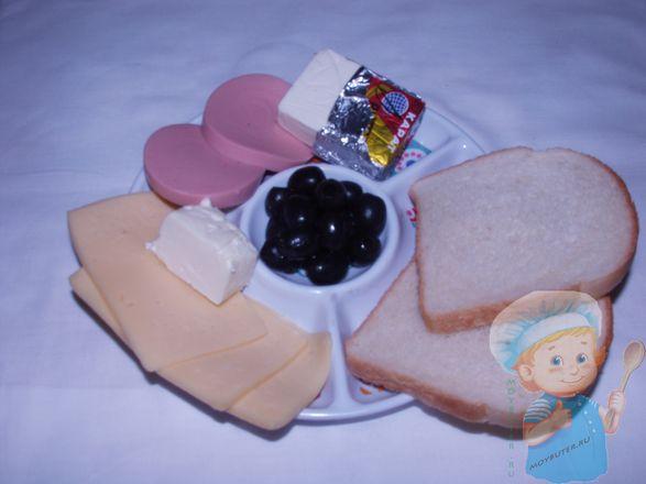 Продукты для детских бутербродов