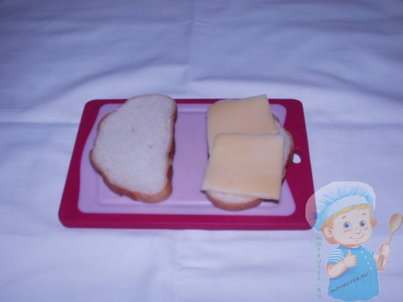 Укладваем сыр