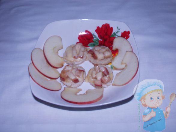 Готовая закуска из яблок