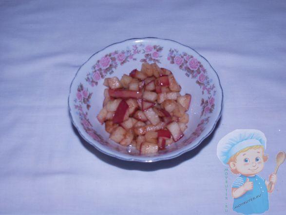 Остужаем яблоки