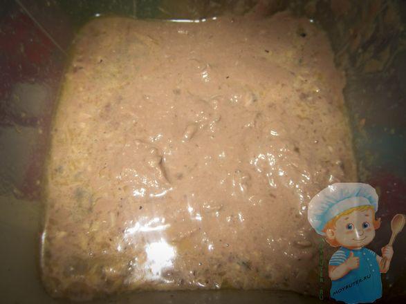 Выкладываем печень трески