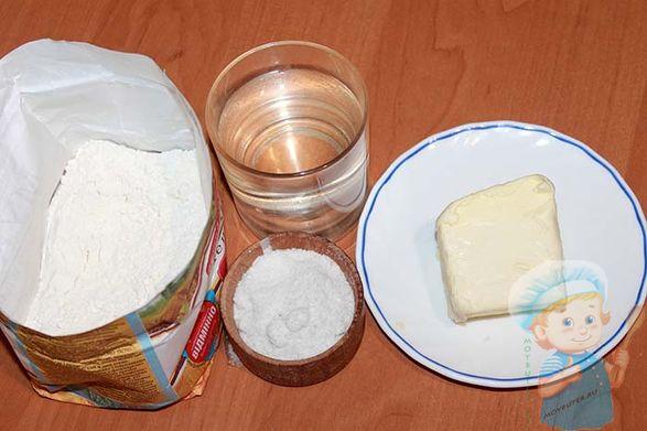 Ингредиенты для тортильи