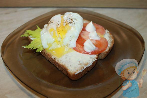 Яйцо пашот в пакете