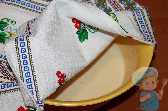 Разводим тесто