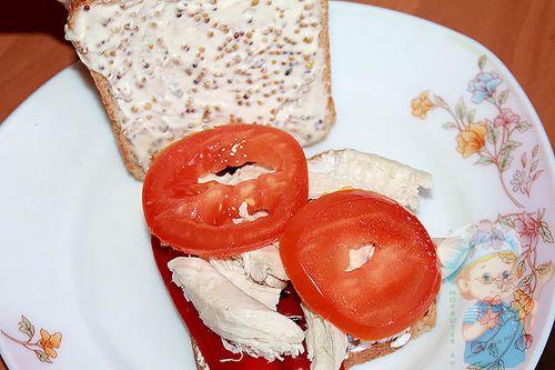ломтики помидора