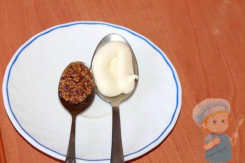 Майонез и горчица