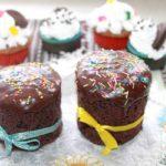 Пасхальные шоколадные куличи