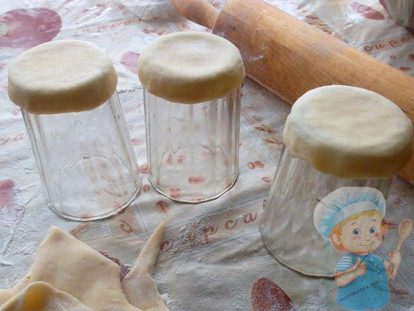 Делаем формочки на стакане