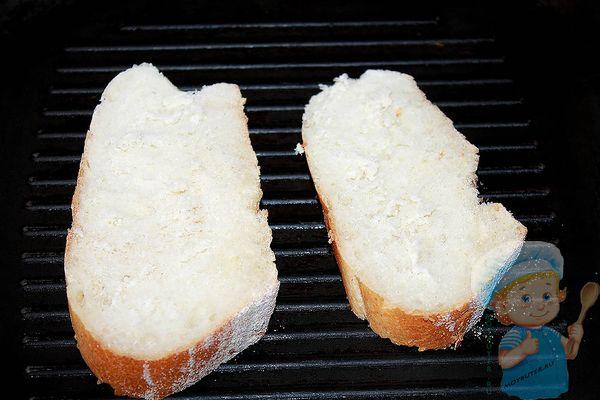 Хлеб кусочками