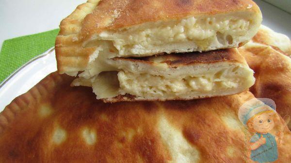 Сырная начинка в чебуреках