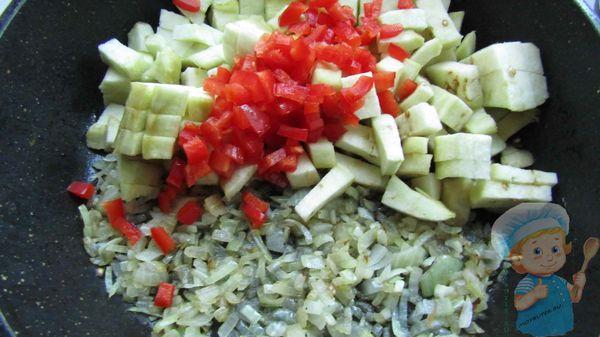 Тушим овощи