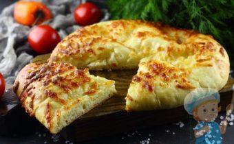 Хачапури по-мегрельски настоящий грузинский рецепт