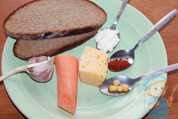 продукты для новогодних бутербродов