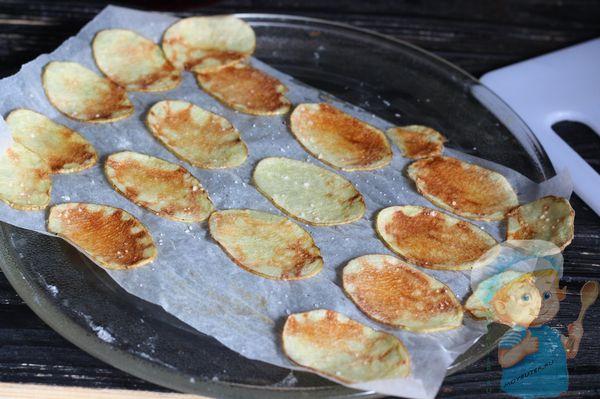 хрустящие домашние чипсы