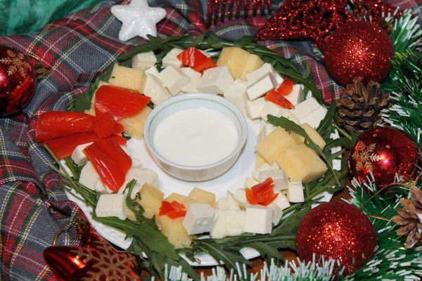 закуска из сыра на новый год