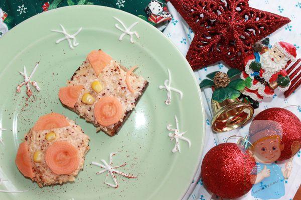 бутерброды в виде свиньи рецепт