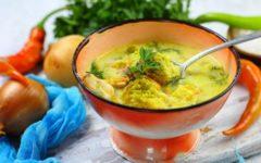 сырный суп с брокколи и курицей рецепт