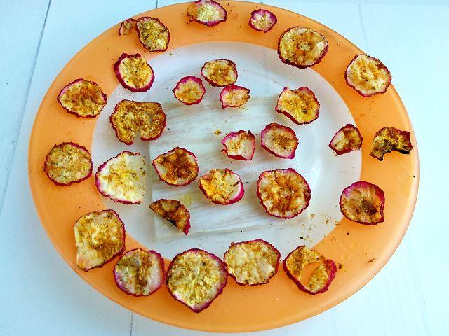 Готовим овощные чипсы